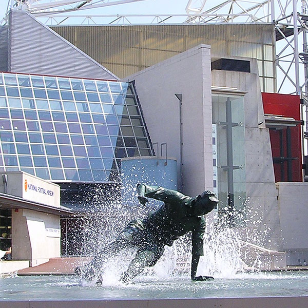 Tom Finney Statue at PNE Football Club