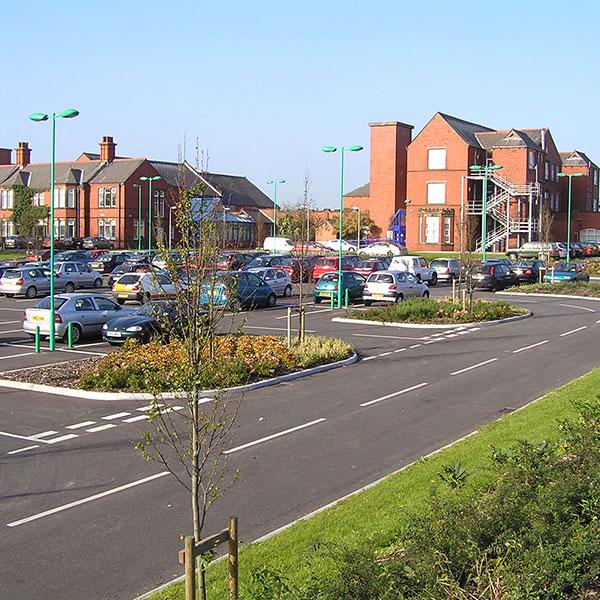 Wesham Hospital Car Park