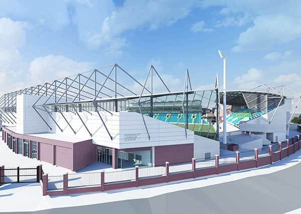 TRP engineers £40m Emerald Headingley Stadium redevelopment plan
